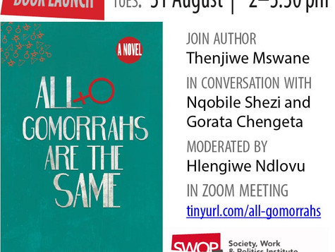 [Book Launch] All Gomorrahs are the Same - Thenjiwe Mswane