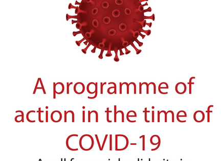 A Programme of Action in the time of COVID-19 : A call for social Solidarity in South Africa