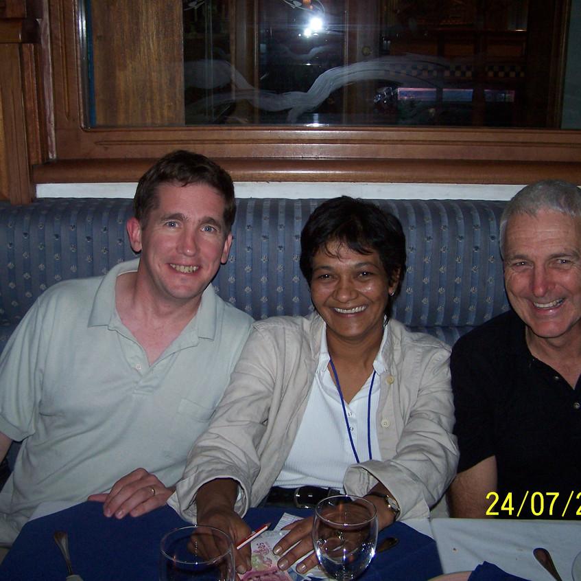 2006 Durban with Anthea Metcalfe Robert