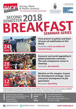 SWOP Breakfast 2018 second semester  cop
