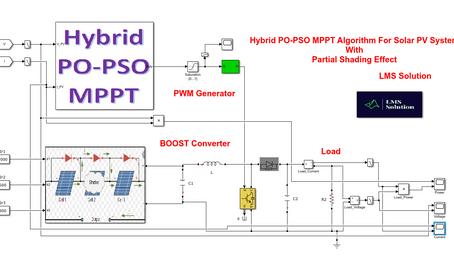 Hybrid PO-PSO MPPT for solar PV system