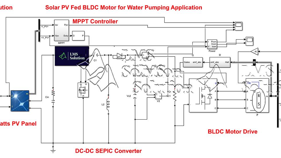 Solar PV Fed SEPIC Converter Based BLDC Motor for Water Pump Application