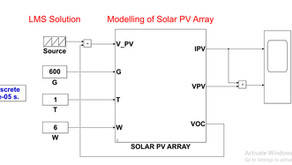 Modelling and Implementation of Solar PV Array in MATLAB Simulink