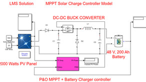 Implementation of MPPT solar charger controller in MATLAB Simulink