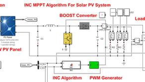MATLAB Implementation of Incremental Conductance MPPT for Solar PV System