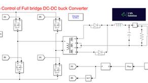 Closed Loop Control of Isolated Full Bridge DC-DC Buck converter using MATLAB