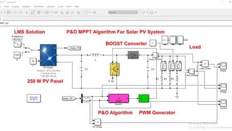 MATLAB Implementation of P&O MPPT algorithm for Solar PV System (Part2)