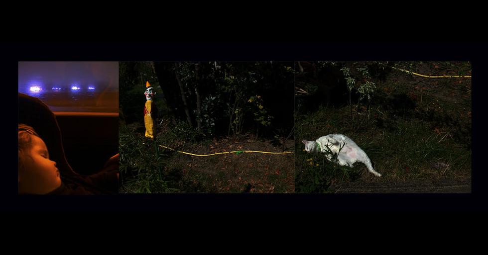 """ENFANCE 2 - LA NUIT """" Le fil d'Ariane """""""