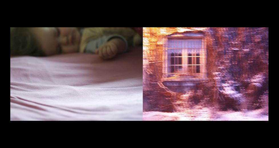 """ENFANCE 2 - LE JOUR """" Rose tendre """""""
