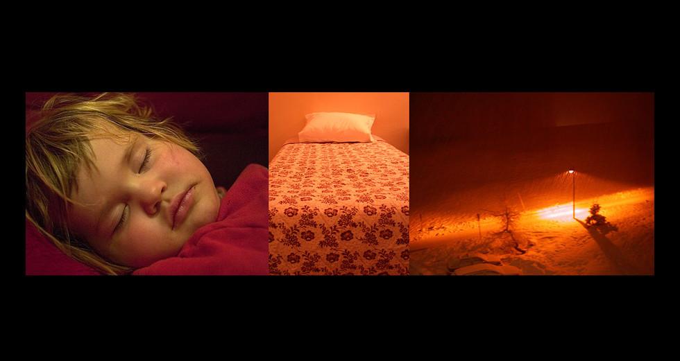 """ENFANCE 2 - LE JOUR """" Orange émotif """""""