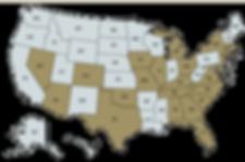 Industry Footprint Map - Winston Hospita