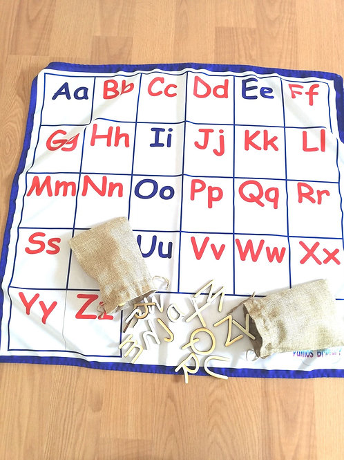 Base Alfabeto Maiúsculas e Minúsculas