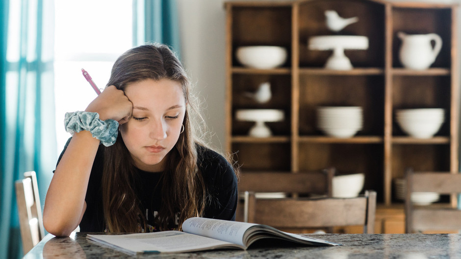 How Can We Help Our Kids Dial Down Exam Stress?