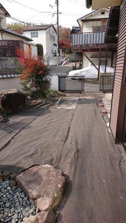 庭、駐車スペース