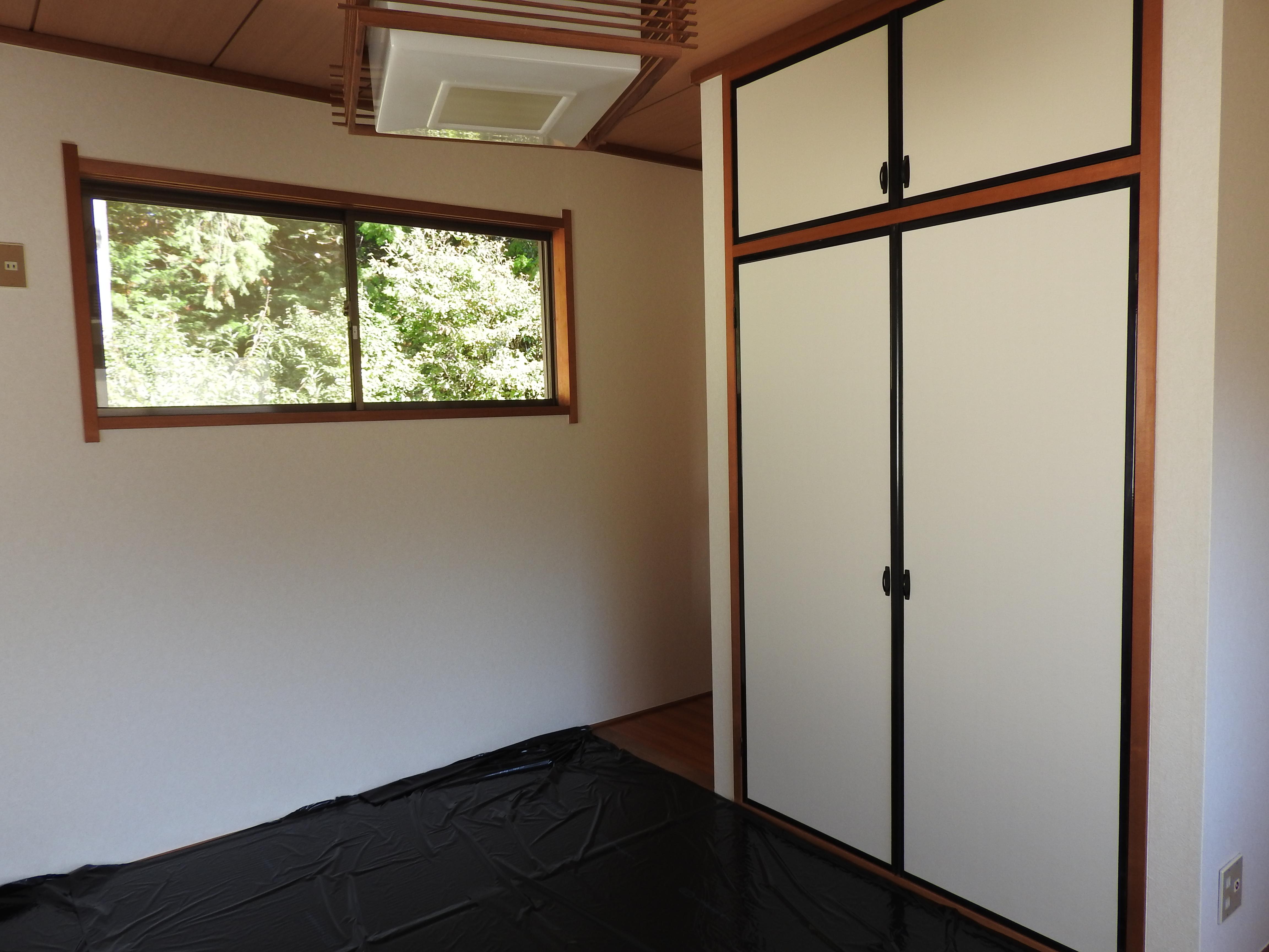2階和室畳替え完了