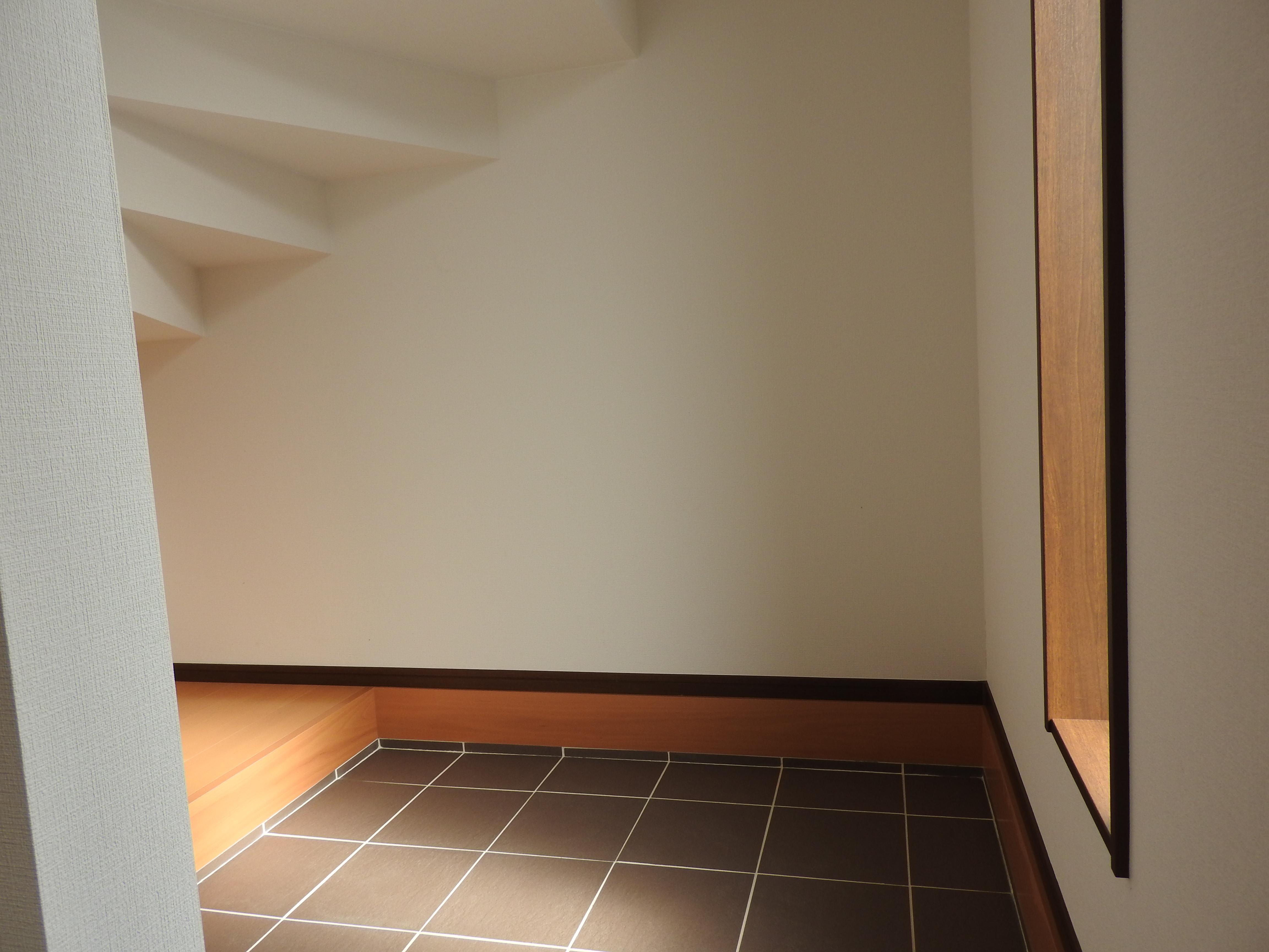 玄関横のフリースペース
