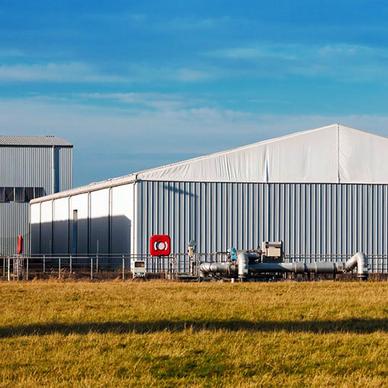 Bodega Industrial Losberger