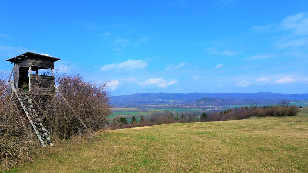 Krajina v Přírodním parku Doupovská pahorkatina