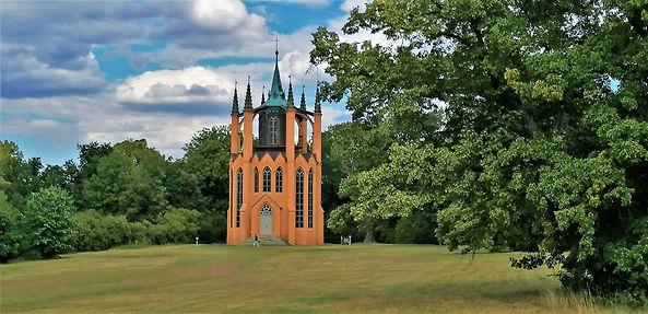 Stavba Gotického templu v Krásném Dvoře sloužila původně jako vyhlídka