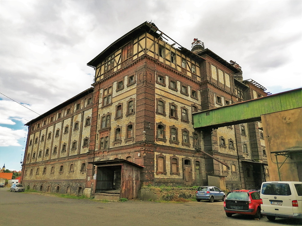 Bývalý pivovar Dreher v Žatci