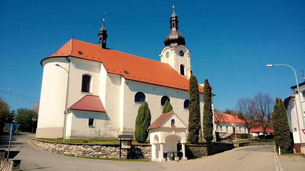 Kostel Navštívení Panny Marie v Jednově
