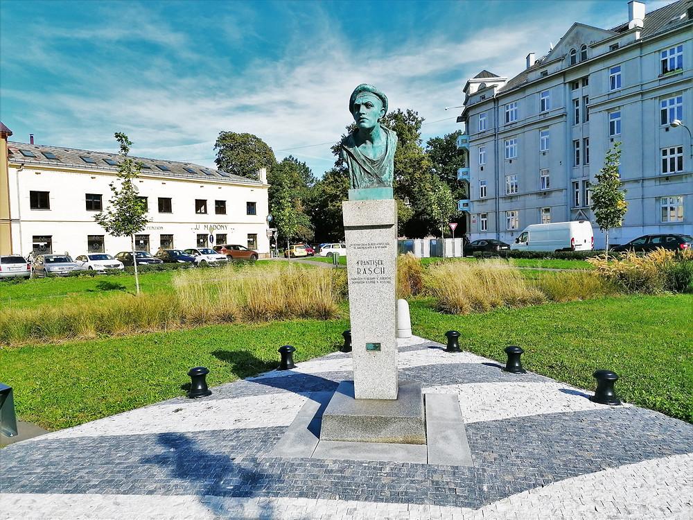 Pomník Františka Rasche v Přerově