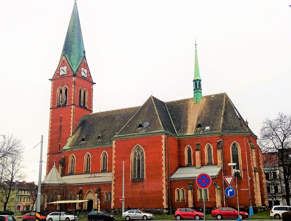 Kostel Nejsvětější srdce Ježíšovo (Červený Kostel), Teplice