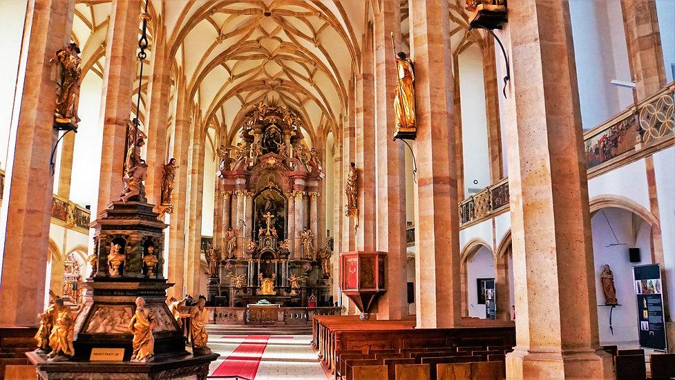 Se stavbou kostela Nanebevzetí Panny Marie v Mostě se začalo v roce 1515