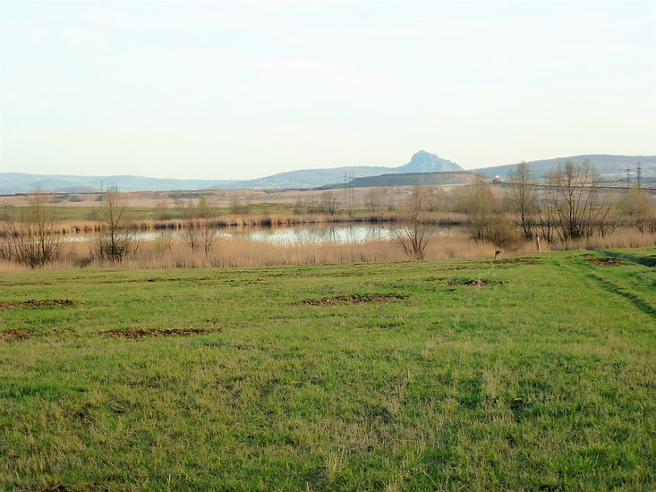 Hora Bořeň a jezero Ema (VP).JPG