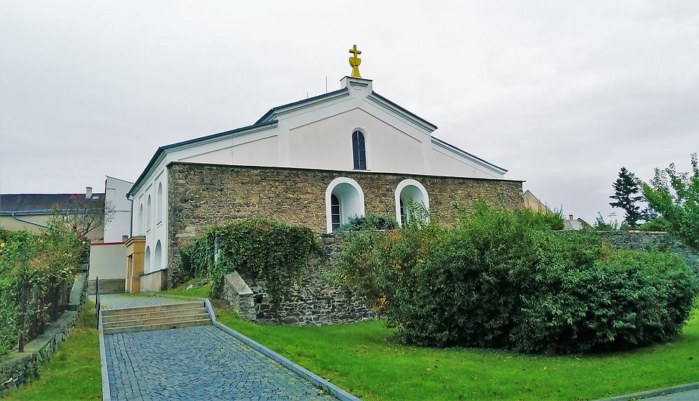 Budova bývalé synagogy, která je druhou nejstarší v republice, v Lipníku nad Bečvou