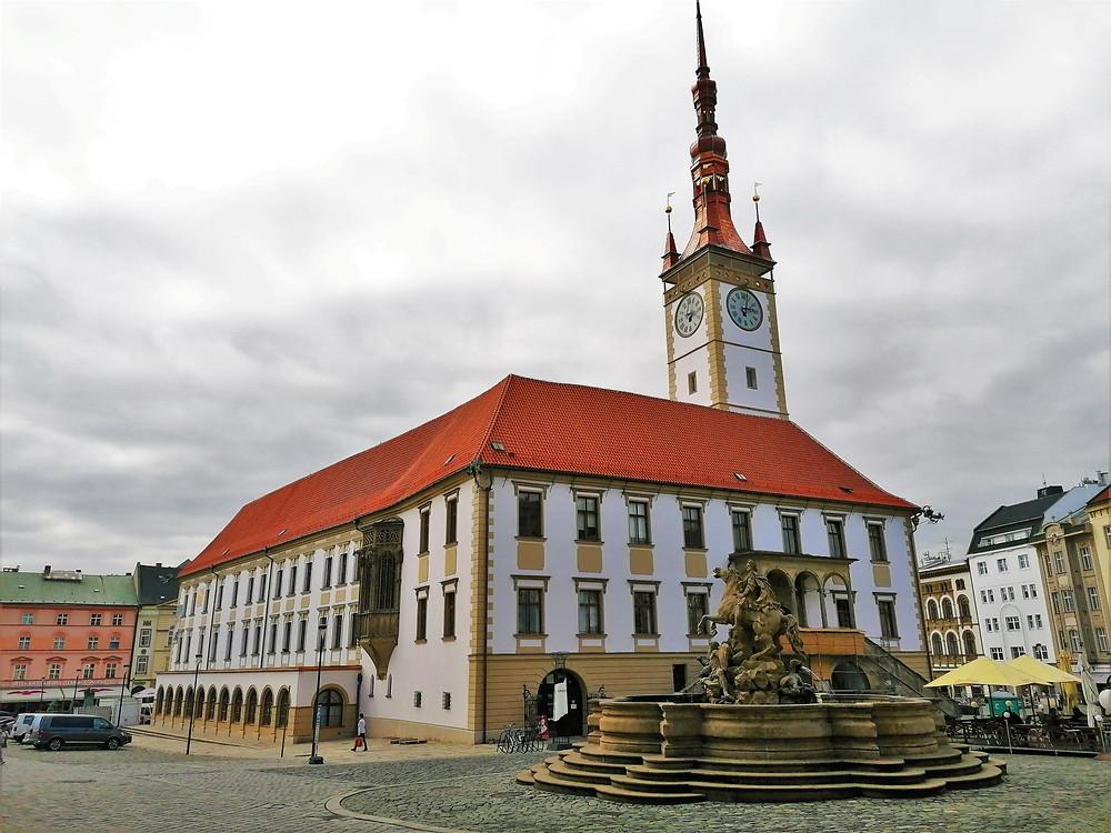 Olomoucká radnice s radniční věží