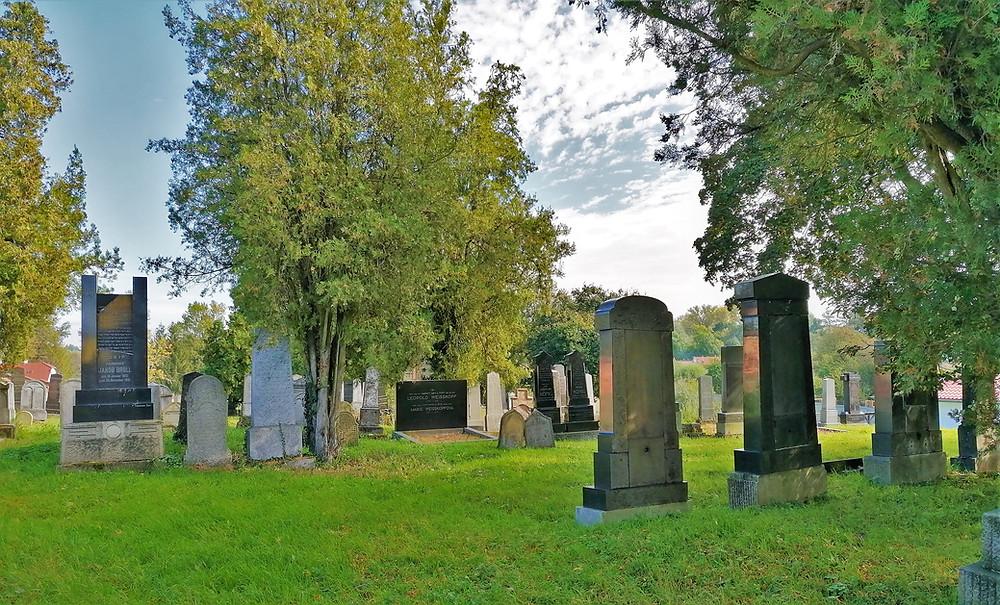 Židovský hřbitov v Kojetíně
