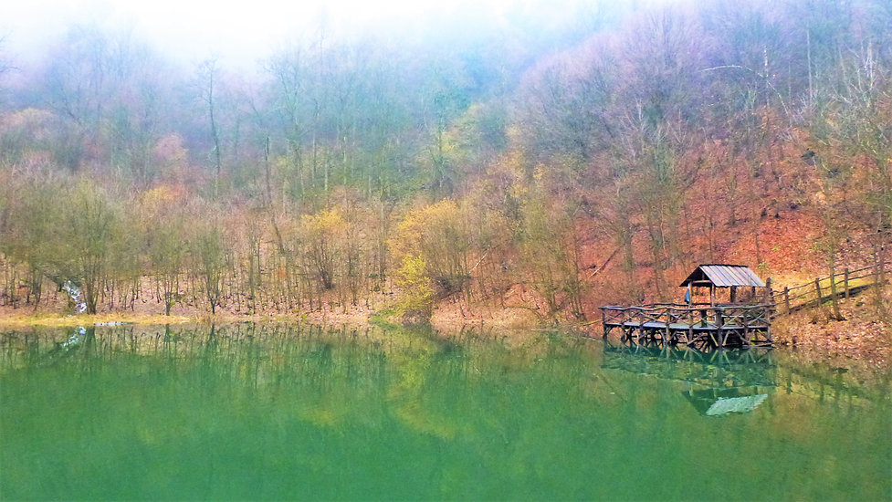 K hladině Kotelního rybníka se prudce sn