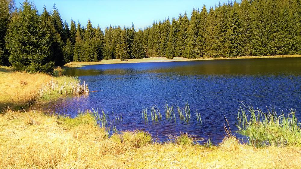 Chomutovské Kamencové jezero