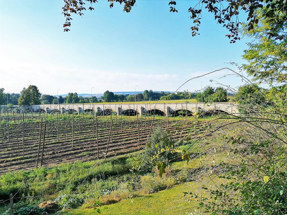 I při rozsáhlých rozlivových záplavách bylo možné se v Postoloprtech dostat díky inundačnímu mostu na druhý břeh velmi bezpečně