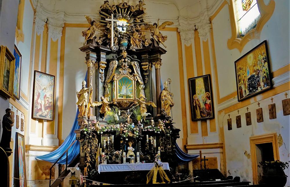 Poutní kostel v Liběšicích