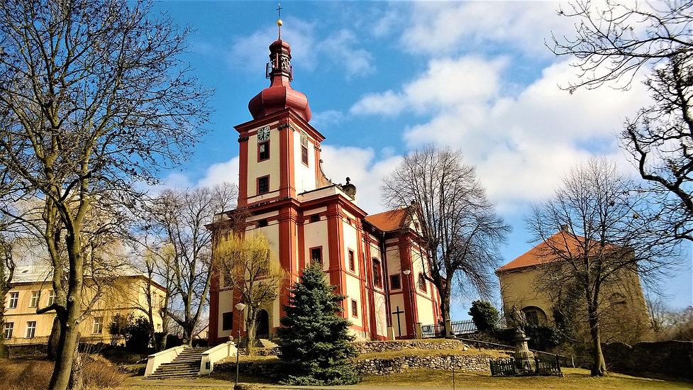Kostel Nanebevzeti Panny Marie v Hornim Jiřetíně