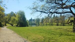 Zákoutí zámeckého parku v Čechách pod Kosířem
