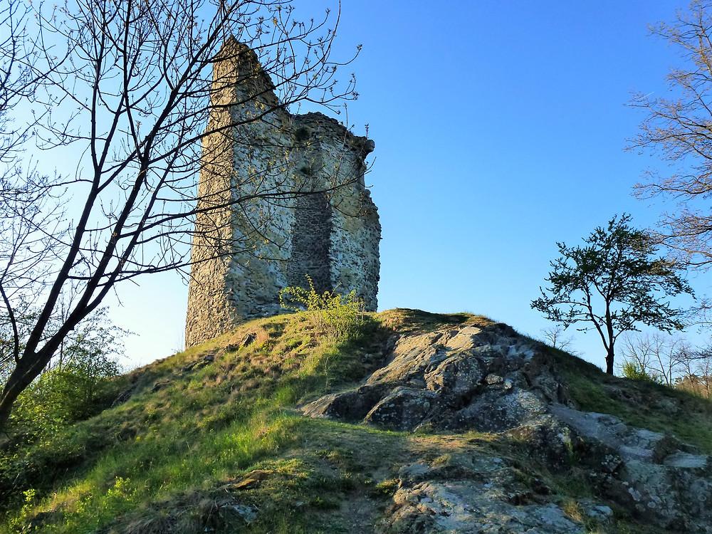Zřícenina hladomorny Dolního hradu