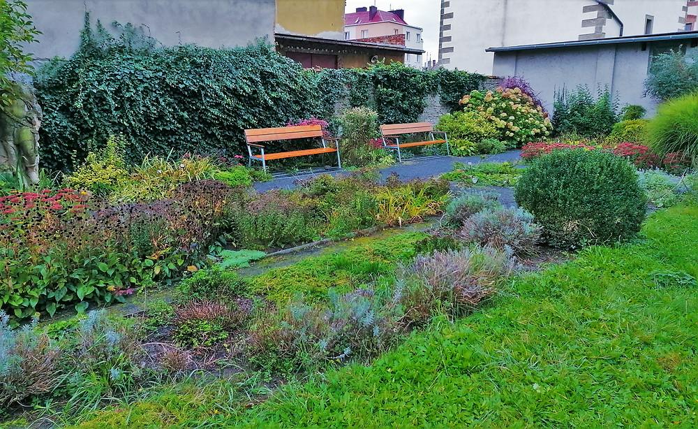 Meditační zahrada v Lipníku nad Bečvou
