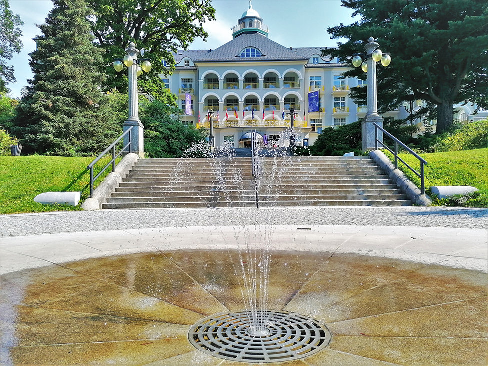Priessnitzovo sanatorium přes Reinholdov