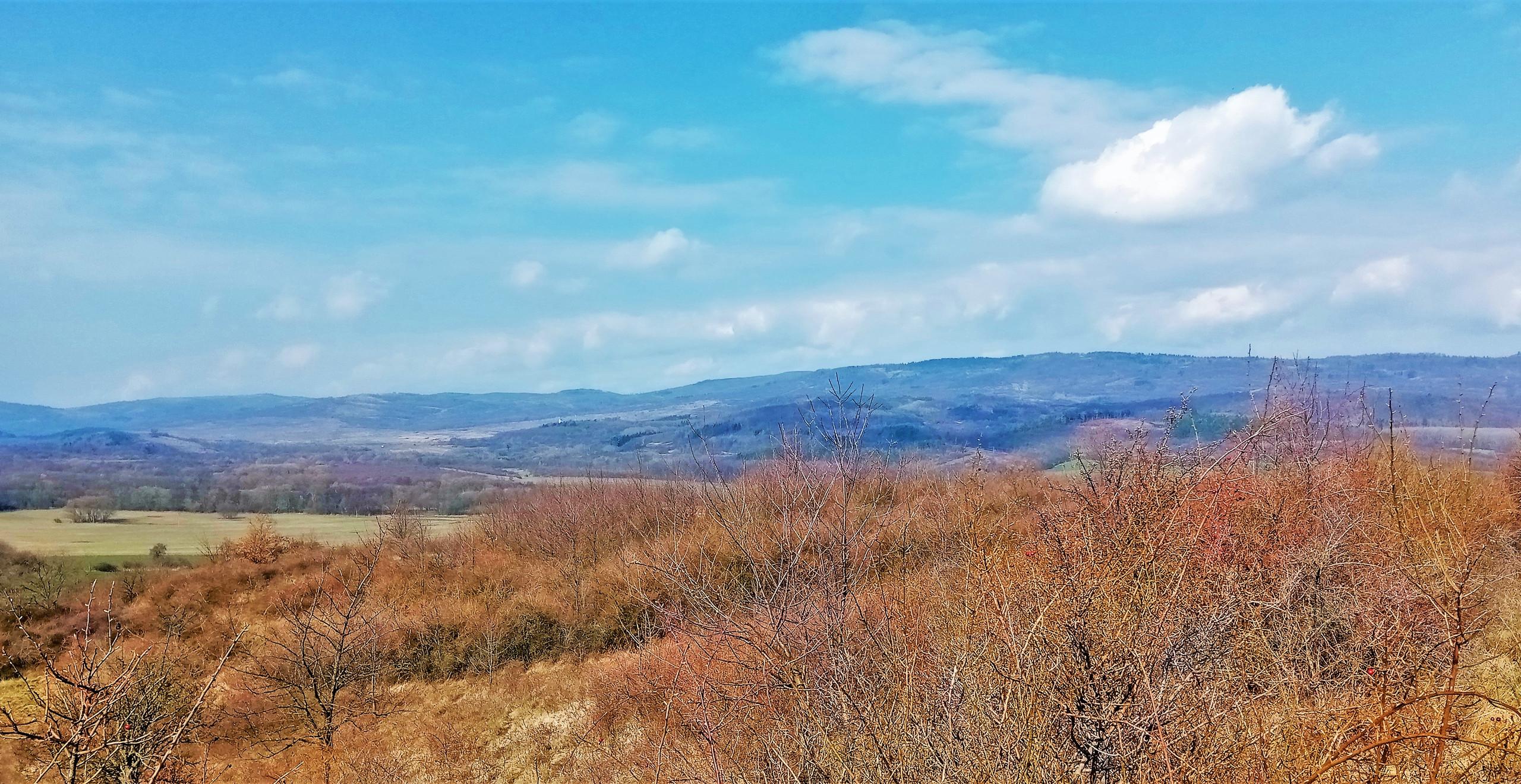Doupovské hory jako na dlani