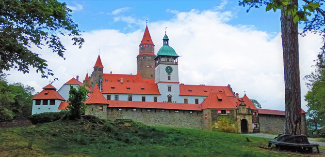 Jeden z nejfilmovanějších českých hradů