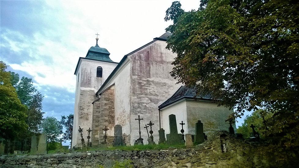 x - Kostel svatého Václava v Hoře Svatéh