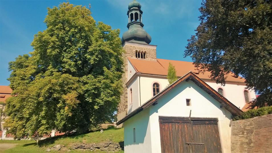 Galerie: Svojšínský kostel - perla církevní architektury