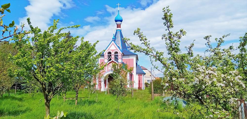 Pravoslavný kostel svaté Ludmily v Řimicích