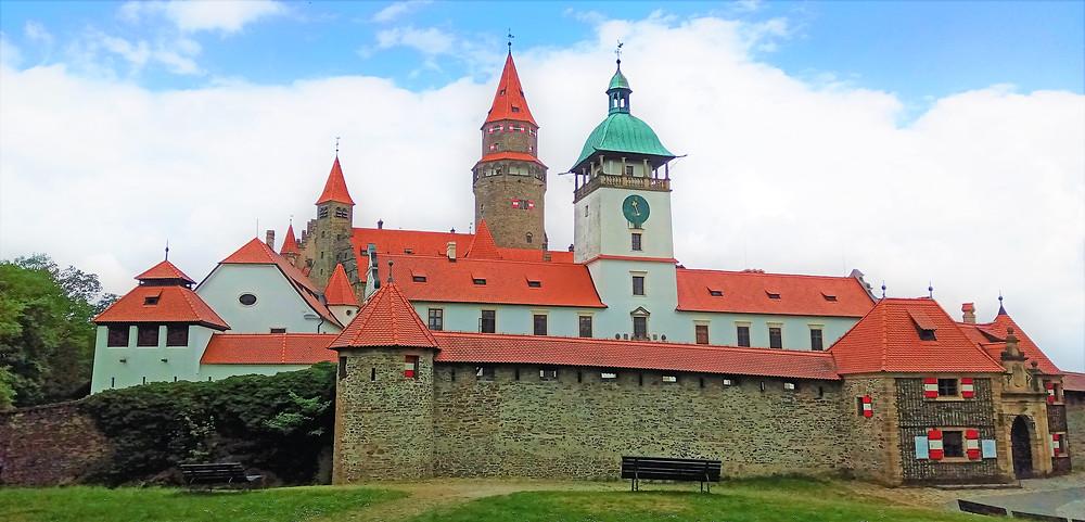 Národní kulturní památka hrad Bouzov