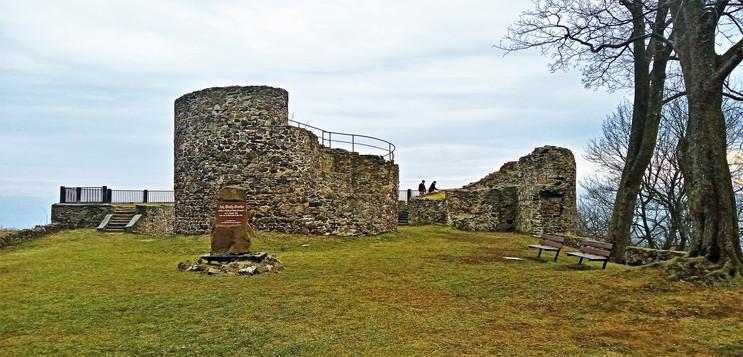 Galerie: Zřícenina hradu Krupka