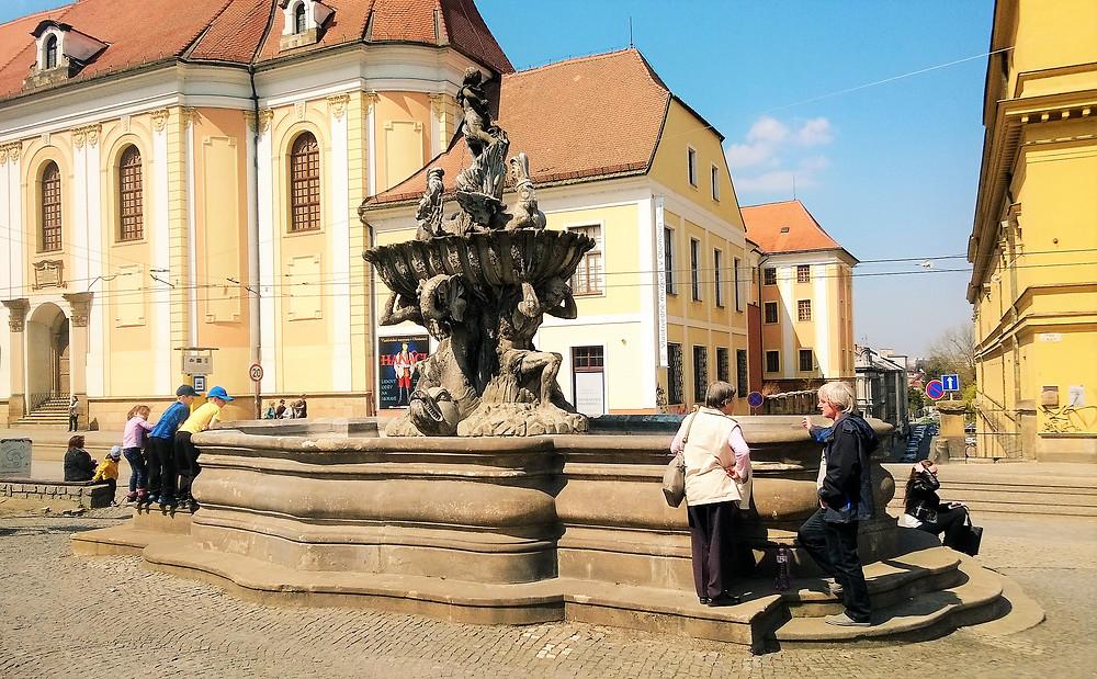 NKP Kašna Tritónů v Olomouci