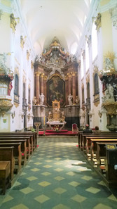 Fenomenální umělecká výzdoba  kostela Očišťování Panny Marie v Dubu nad Moravou